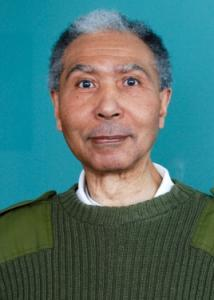 Headshot of David Wagstaff with gray hair, green sweater, and white shirt.